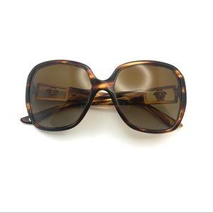 Versace Brown Gradient Women's Sunglasses